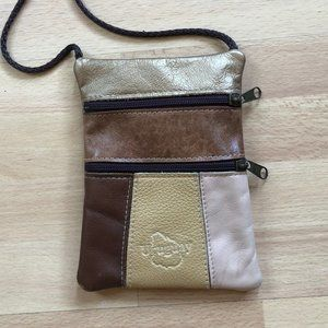 Small Genuine Leather Purse from Uruguay